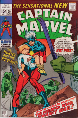 Captain Marvel #20. Click for current values.