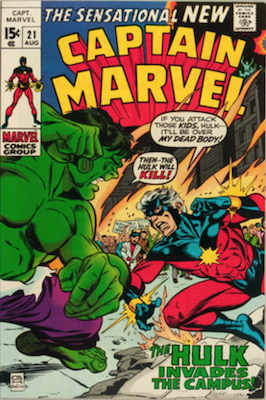 Captain Marvel #21. Click for current values.