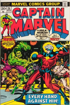Captain Marvel #25. Click for current values.