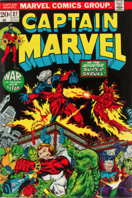 Captain Marvel #27. Click for current values.