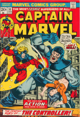 Captain Marvel #30. Click for current values.