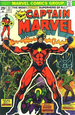Captain Marvel #32. Click for current values.