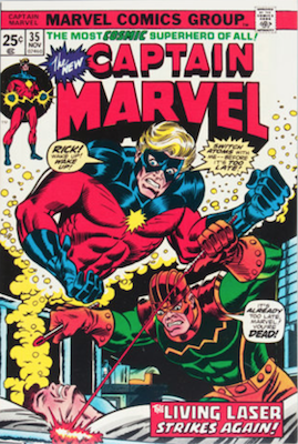 Captain Marvel #35. Click for current values.