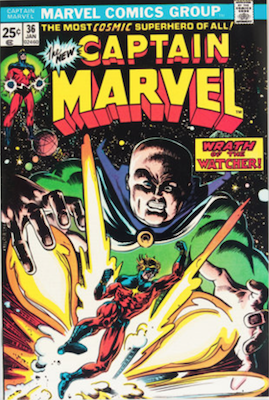 Captain Marvel #36. Click for current values.