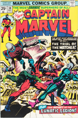 Captain Marvel #38. Click for current values.