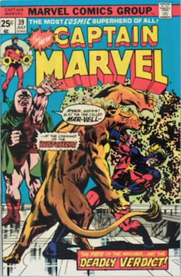 Captain Marvel #39. Click for current values.