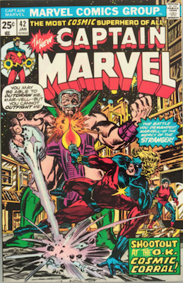 Captain Marvel #42. Click for current values.