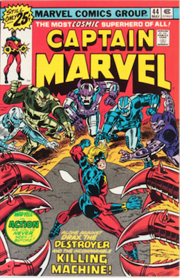 Captain Marvel #44. Click for current values.