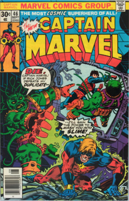 Captain Marvel #46. Click for current values.