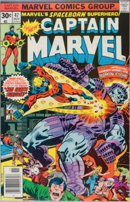 Captain Marvel #47. Click for current values.