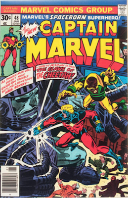 Captain Marvel #48. Click for current values.