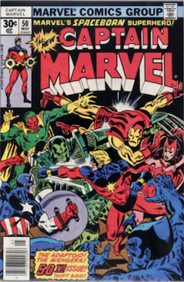 Captain Marvel #50. Click for current values.