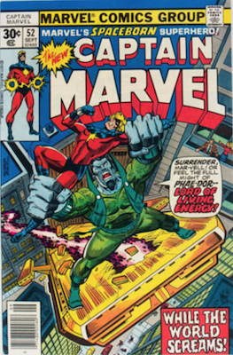 Captain Marvel #52. Click for current values.