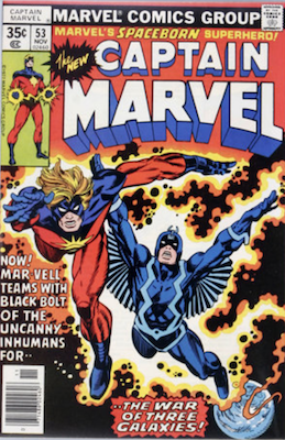 Captain Marvel #53. Click for current values.