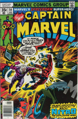 Captain Marvel #54. Click for current values.