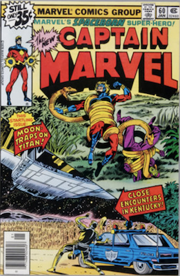 Captain Marvel #60. Click for current values.