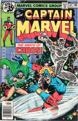 Captain Marvel #61. Click for current values.