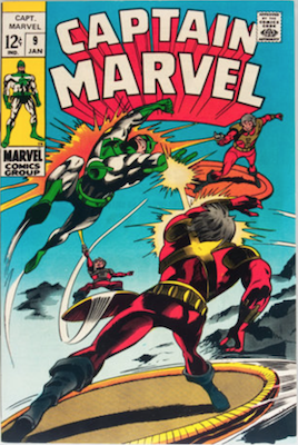 Captain Marvel #9. Click for current values.