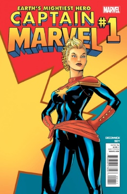 Carol Danvers (First Appearance as Captain Marvel, Captain Marvel Vol. 3 #1, August, 2012). Click for value