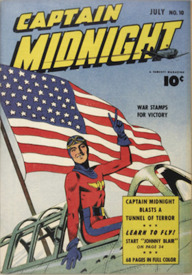 Captain Midnight #10. Click for current values.