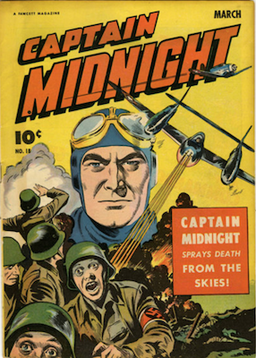 Captain Midnight #18. Click for current values.