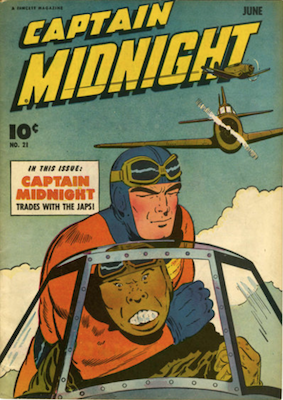 Captain Midnight #21. Click for current values.