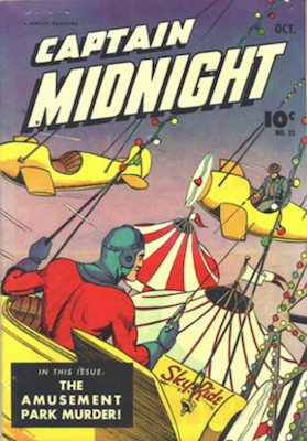Captain Midnight #25. Click for current values.