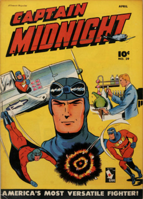 Captain Midnight #39. Click for current values.
