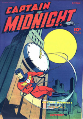 Captain Midnight #45. Click for current values.