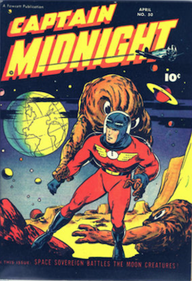Captain Midnight #50. Click for current values.