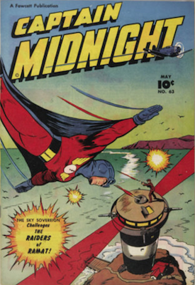 Captain Midnight #63. Click for current values.