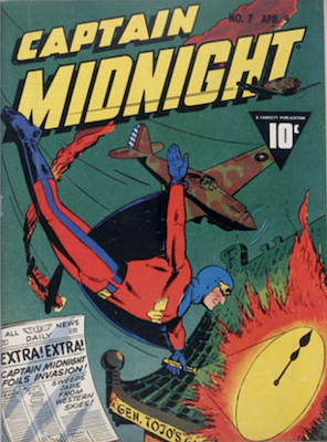 Captain Midnight #7. Click for current values.