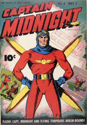 Captain Midnight #8. Click for current values.