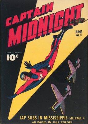 Captain Midnight #9. Click for current values.