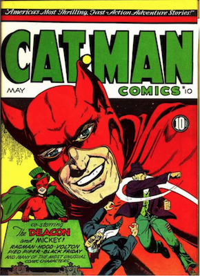 Cat-Man Comics #10. Click for current values.