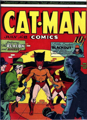 Cat-Man Comics #12. Click for current values.