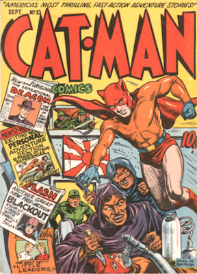 Cat-Man Comics #13. Click for current values.