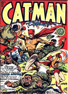 Cat-Man Comics #14. Click for current values.