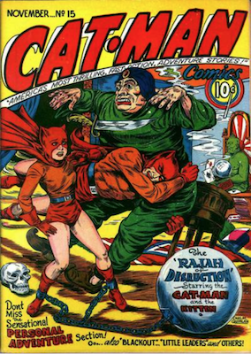 Cat-Man Comics #15. Click for current values.
