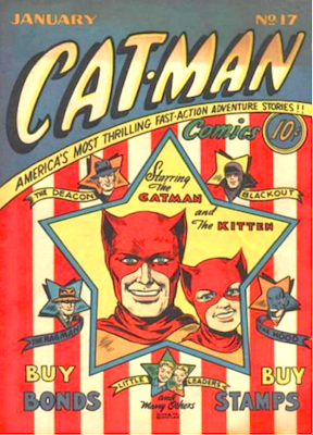 Cat-Man Comics #17. Click for current values.