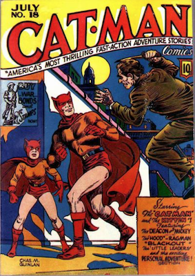 Cat-Man Comics #18. Click for current values.
