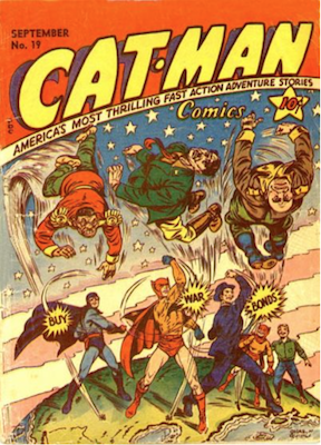Cat-Man Comics #19. Click for current values.