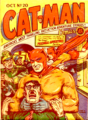 Cat-Man Comics #20. Click for current values.