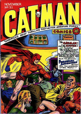 Cat-Man Comics #21. Click for current values.