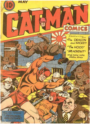 Cat-Man Comics #24. Click for current values.
