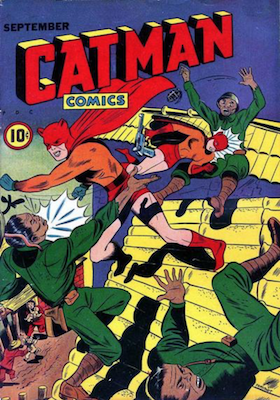 Cat-Man Comics #26. Click for current values.