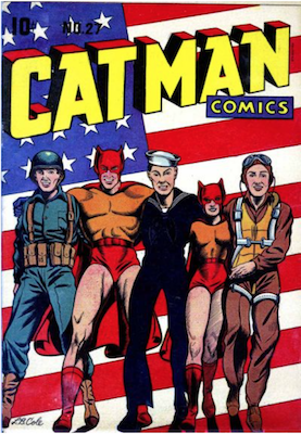 Cat-Man Comics #27. Click for current values.