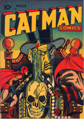 Cat-Man Comics #28. Click for current values.