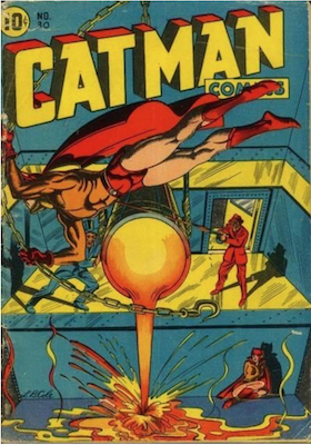 Cat-Man Comics #30. Click for current values.