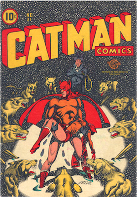 Cat-Man Comics #31. Click for current values.